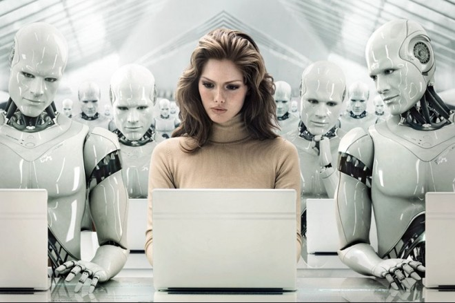 Are we all working for the Robots?